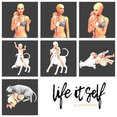 The Sims 4 Life Itself & Group Selfie posepack by simmerberlin The Sims 4 Pc, Sims 4 Mm, My Sims, Sims 4 Stories, Sims 4 Pets, Sims 4 Family, Toddler Poses, Sims Free Play, Sims 4 Game Mods