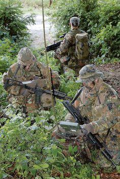 Fernspäher der Bundeswehr German Army recon troops LRRP