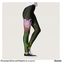 Flowering Chives and Palmetto Leggings - 15% off with code SPRINGLOVE17 from ZoeSPEAK