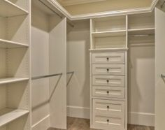 This is how open my closets are going to be. I need to see my stuff right away esp. when I'm running late!