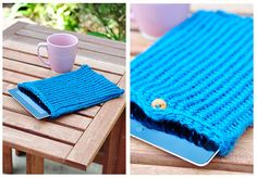 How to Knit a Cover for Your iPad