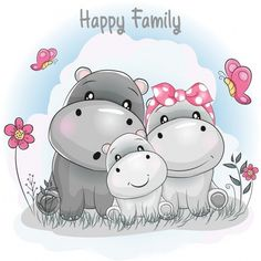 Find Cute Hippo Family Cartoon stock images in HD and millions of other royalty-free stock photos, illustrations and vectors in the Shutterstock collection. Cartoon Cartoon, Cartoon Drawings, Cute Drawings, Animal Drawings, Cartoon Characters, Cartoon Hippo, Tatty Teddy, Cartoon Familie, Cartoon Mignon
