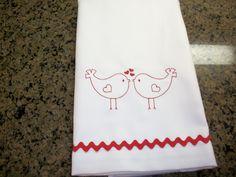 Lil birdies towel