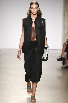 Sally LaPointe Spring 2016 Ready-to-Wear Collection Photos - Vogue  chic utility, love it