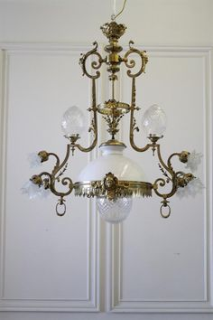 French Belle Epoque Century Neoclassical Style Gilt-Bronze Chandelier from Full Bloom Cottage French Furniture, Classic Furniture, Antique Brass Chandelier, French Homes, French Armoire, French Bed, French Chairs, Neoclassical, Belle Epoque