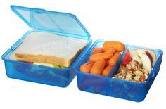 Sistema Lunchbox, quadratisch, blau: Amazon.de: Küche & Haushalt