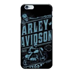 Harley Demo Days Eagle Demon Goat Skull Painted Black Plastic PC Hard Case for iPhone 5S SE 6/6S 6/6S Plus