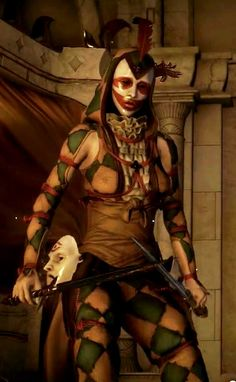 Harlequin Assassin from DA:I Choices and Consequences trailer