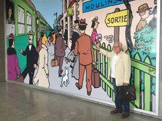 Dictionnaire Amoureux de Tintin: un livre, une interview d'Albert Algoud