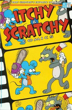 itchy and scratchy #2