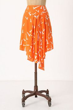 Scattered Wing Skirt #anthropologie