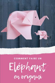 Comment faire un éléphant en origami Origami Ball, Diy Origami, Origami Dog, Origami Tattoo, Origami Elephant, Origami Butterfly, Paper Crafts Origami, Origami Flowers, Origami Tutorial