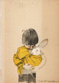 Un abbraccio d'amore #illustration