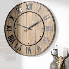 "Found it at Wayfair - Northrop Wine Barrel 24"" Wall Clock"