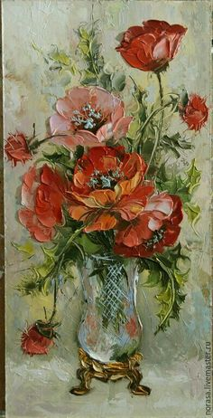 Watercolor art is perhaps the simplest. There is no need to prepare elaborate painting materials to realize your watercolor ideas. Acrylic Painting Flowers, Watercolor Flowers, Watercolor Paintings, Poppies Painting, Watercolor Ideas, Flower Paintings, Painting Canvas, Painting Abstract, Arte Floral