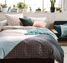 Linen-house-Stevie-Quilt-cover-set-Multi-Colour-Geometric-Queen-Bed