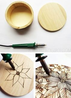 wood+burned+spoons | After finding some really affordable balsa wood boxes at my local ...