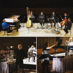 Narcissus, play for music + scent, by music composer Calliope Tsoupaki and scent Composer Tanja Deurloo. Ergon Ensemble in Athens. (Nieuw Amsterdams Peil in NL)