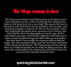 Virgo woman in love. I don't agree with the first line about love not being important, because it is important. Virgo Libra Cusp, Virgo Traits, Virgo Love, Zodiac Signs Virgo, Virgo Horoscope, Leo And Virgo, Zodiac Facts, Zodiac Memes, Aquarius