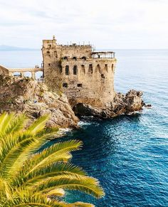 Maiori castle, Amalfi coast, Italy