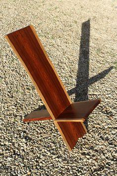 African Chair, handmade in Pau Rosa