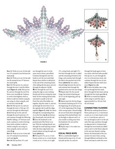 Beading Tutorials, Beading Patterns, Peyote Stitch Tutorial, Beaded Jewelry Designs, Beaded Flowers, Bead Weaving, Triangles, Flower Patterns, Beaded Earrings