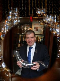 Our Sommelier of the month for August 2015 is Derek Scaife, Head Sommelier at The Chester Grosvenor. Click this photograph to view a selection of questions which Derek has very kindly answered for us.