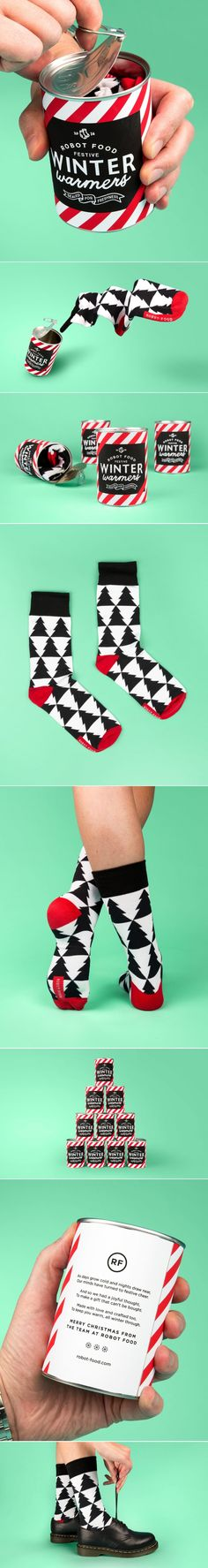 Who knew socks could be this festive? — The Dieline - Branding & Packaging Design