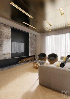 Modern apartments by DEnew on Behance