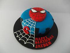 Spiderman Cake | www.birthdaycakeshop.co.uk/blog