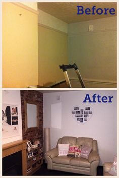 Single Mum Home Redecorating Skills Before And After
