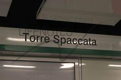 Fermata metro Linea C Torre Spaccata