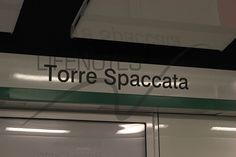 Fermata Torre Spaccata Linea C Roma