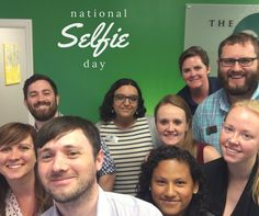 Today is one of the most important days of the year...well...it is if you work in social media marketing anyway. Grab your selfie stick and do your best pout. It's National Selfie Day!