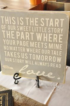 literature themed wedding   Several months ago I had found this fun piece of Word Art at 13 ...