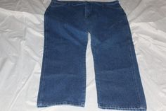 Wrangle 42rx30 mens blue jeans pre-owned #KirklandSignature #Relaxed