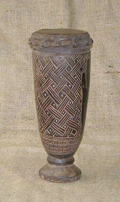 Kuba Drum, Congo, Africa
