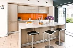 Catherine and Shane Sylvester extended to create a bright, sociable kitchen space