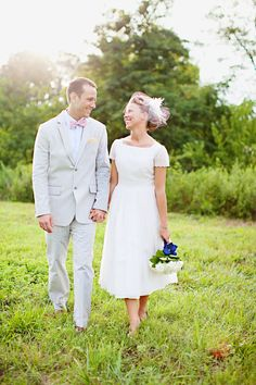 lens flare woods with bride and groom happy smiling