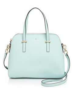 Kate Spade, Cedar Street Maise Satchel in Ballet Slipper, $300 via Bloomingdales (also in Cream!!)
