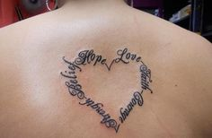 But With My Kids Names Instead More Tattoo Ideas Name Heart