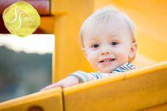 Winter Playground 2 Year Photo Session © Sara Ashley- Eugene, Oregon portrait photographer. www.sashleyphoto.com Playground Photo Shoot, Eugene Oregon, Photo Sessions, Portrait Photographers, Photoshoot, Gallery, Children, Winter, Face