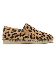 Look at this #zulilyfind! Tan Leopard Hellesto Espadrille #zulilyfinds