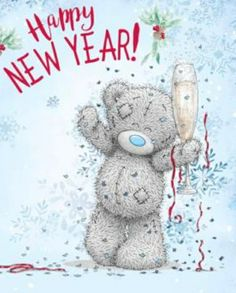 Teddy Bear Quotes, Teddy Bear Images, Tatty Teddy, Merry Christmas And Happy New Year, Christmas Greetings, Blue Nose Friends, Happy New Year Images, Bear Pictures, Cute Teddy Bears