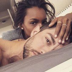 """""""#Throwback @jastookes"""" Jasmine Tookes and Tobias Sorensen"""
