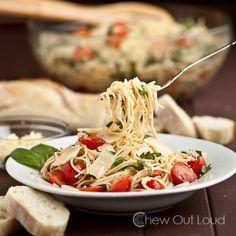 How To Make Pasta Recipes : Bruschetta (Tomato Basil) Pasta