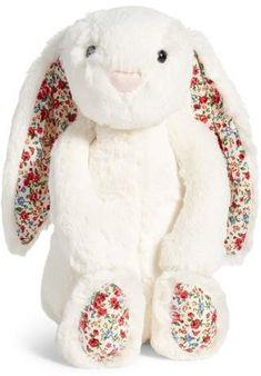 Soft lace dress rabbit stuffed plush animal bunny toy for baby girl kid gift RDR