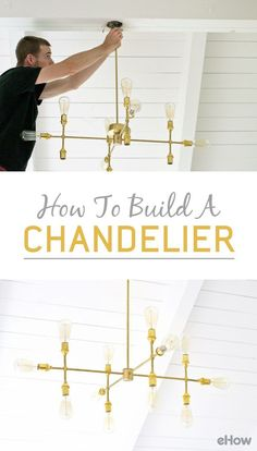 This fixture is fairly simple, but the Edison bulbs provide extra interest that takes the piece to the next level. With basic electrical wiring knowledge, a little time, and a few lamp parts, you can have your own modern light fixture. http://www.ehow.com/how_4828766_build-a-chandelier.html?utm_source=pinterest.com&utm_medium=referral&utm_content=freestyle&utm_campaign=fanpage