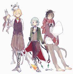 Eichi, Hajime, & Ritsu | Ensemble Stars!