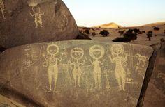 Niger - African rock art